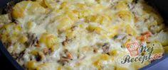 Recept Grófkine francouzské brambory: Toto parádně vylepšení jsem zkusila jen jednou a od té doby jiné francouzské brambory nemají šanci! Cheeseburger Chowder, Macaroni And Cheese, Soup, Ethnic Recipes, Fitness, Blue Prints, Vitamins, Top Recipes, Eat Lunch