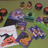 Halloween teemasta saatu paku.