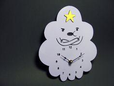 Lumpy the Space Princess Clock by alantronics on Etsy, $39.99