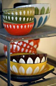 Cathrineholm Lotus bowls