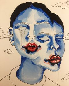 Arte Grunge, Hippie Painting, Art Folder, Sad Art, Identity Art, Hippie Art, Art Hoe, Art Drawings Sketches, Psychedelic Art