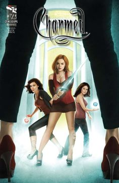 """Issue: Charmed """"The Charmed Offensive"""" Release Date: July 2011 Author: Paul Ruditis Artist: Dean Kotz Cover A: David Seidman Colors: Jorge Maese Letters: Jim Campbell Editors: Paul Rudi Charmed Comics, Phoebe And Cole, Charmed Tv Show, Comic Art Community, Holly Marie Combs, The Wb, Fantasy Tv, Shannen Doherty, Rose Mcgowan"""