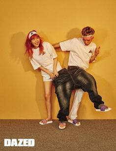 Sibling Duo Akdong Musician Poses for Dazed & Confused Magazine K Pop, Yg Artist, Siblings Goals, Akdong Musician, Pre Wedding Poses, Star Magazine, Fashion Magazine Cover, Dazed And Confused, Korean Entertainment
