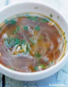 Bouillon Thai, Thai Recipes, Finger Foods, Love Food, Detox, Food And Drink, Meals, Cooking, Healthy