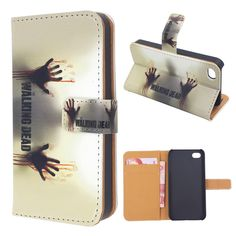 $10 OFF - TWD Leather Wallet Phone Case