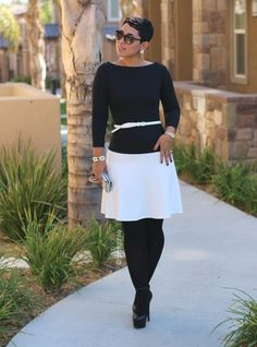 Easy #DIY Pullover Dress + Pattern Review - Mimi G Style