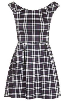 **Tartan Skater Dress by Wal G