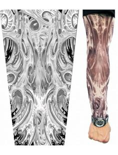 Arm Anatomy Tattoo Sleeve- To Show those muscles.  Tattoo Sleeves   Accesories   StringsAndMe