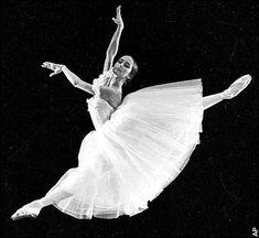 Natalia Bessmertnova of the Bolshoi Ballet