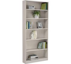 Maine Tall Wide Bookcase Putty