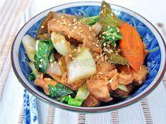 Iscas de frango à chinesinha