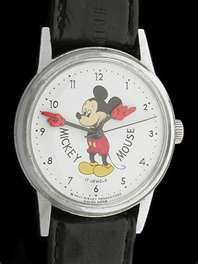 I still have my Mickey Mouse watch.