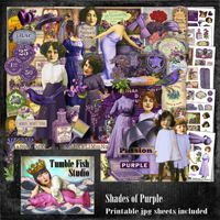 Tumble Fish Studio Shades of Purple kit