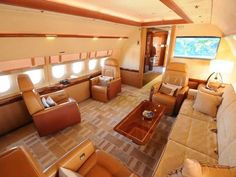 Billionaires are spending millions on customised jumbo jets. They can be tailored by Boeing or Airbus to meets the needs of the customer.