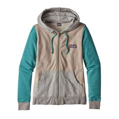W's Board Short Label Lightweight Full-Zip Hoody, El Cap Khaki (ELKH)