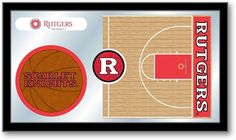 Rutgers Scarlet Knights Basketball Sports Team Mirror at SportsFansPlus.com. Visit website for details!