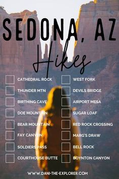 The Best Sedona Hikes for Sunrise and Sunset There are countless things to do in Sedona, Arizona. Arizona Road Trip, Arizona Travel, Sedona Arizona, Hiking Photography, Photography Ideas, Photography Couples, Cool Places To Visit, Places To Travel, New Orleans
