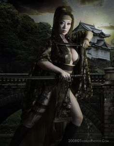 samurai Sexy art female