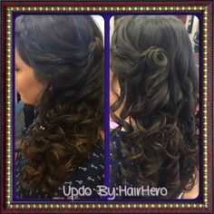 Fun fairytale Updo   by:HairHero at expressions hair nail salon in Temple Texas