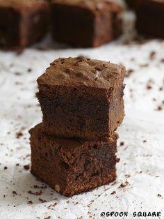 Kawowy brownie z orzechami, mocha-walnut brownies