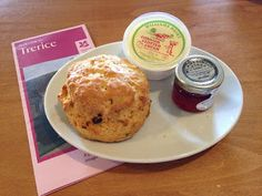 5 out of 5 for the Trerice scone!