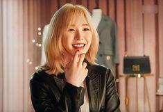 Kpop Girl Groups, Kpop Girls, Wendy Rv, Red Valvet, Wendy Red Velvet, Seulgi, Leather Jacket, Irene, Music