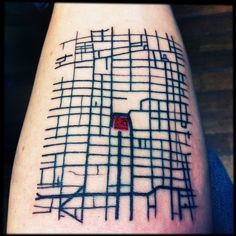 Downtown Mexico City / 43 Rad Tattoos To Pay Tribute To Your Favorite Place (via BuzzFeed)