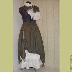 длинная льняная юбка в стиле бохо boho  linen  maxi skirt style