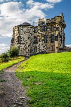 Gothic House. Edinburgh, Scotland