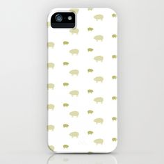 PIG PATTERN iPhone & iPod Case by  Umbrella Design - shop http://society6.com/umbrelladesign