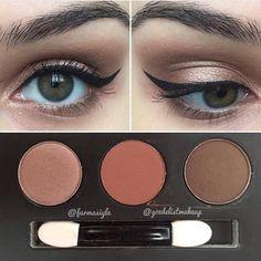 .@gozdelistmakeup  Göz makyajında bugün  3 sıcak renkten oluşan çok çok az tozutan pigmentli far paleti Bu renklerdeki bütün farlar benim olabilir bence çünkü en çok kullandığım renkler bunlar benim  Paletin ismi Vice Brown . . . . . . ...#makeuplover #makeupaddict #makeupjunkie #mac #makeuptutorial #cosmetics #wetnwild #makeupbyme #blush #eyeshadow #makeupartist #makeupdolls #girlfriends #girlsweekend #makyajblogu #eyelashes #eyeliner #lip #instalike  #lipstick  #blogger #bloggerstyle…