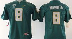 "$25.88 at ""MaryJersey"" (maryjerseyelway@gmail.com) #8 Marcus Mariota - Ducks Dark Green Stitched Youth/Men NCAA Jersey"