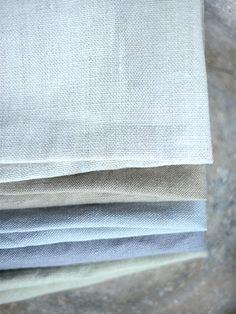 Chunky stonewashed linen