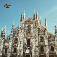 Milano Duomo *.* Mailänder Dom! So ein geiles Foto!! Und in den Beschreibungen immer Sight Seeing Tipps für Traveler : @colouroflina
