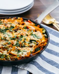 Enchilada Skillet #recipe #skillet