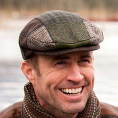 This tweed Patch Cap is made in Ireland from 100% Irish Tweed. Each cap bb7c9dcdace