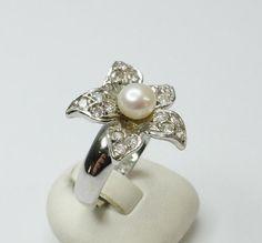 925er+Perlenring+Süßwasserperle+18,1+Silber+SR121+von+Atelier+Regina++auf+DaWanda.com