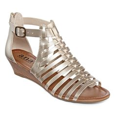 e5e9b30a2b7 a.n.a® Grayson Gladiator Wedge Sandals - JCPenney Gladiator Wedges