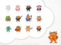 Help create a mascot and logo for Role.Place a new social network for fans of online role playing. by DinoDevilDesign™