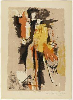 Afro (Afro Basaldella). Untitled. 1956