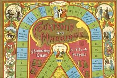 Courtship and Marriage game Native American History, American Civil War, British History, Marriage Games, National Archives, Vintage Games, Us Presidents, Looking Back, How To Introduce Yourself