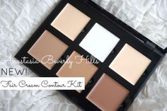 NEW Anastasia Beverly Hills Fair Cream contour Kit review and swatches
