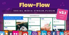 Flow-Flow — WordPress Social Stream Plugin - CodeCanyon Item for Sale