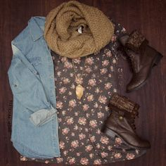 Annie Floral Shift Dress