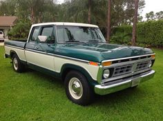 Nice example of a 1977 Ford Supercab. 79 Ford Truck, F100 Truck, Ford Pickup Trucks, Classic Car Insurance, Best Car Insurance, Vintage Trucks, Old Trucks, Mustang Old, Classic Ford Trucks