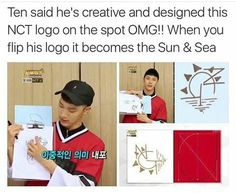 ~ NCT Ten ~ I think he just became a bias wrecker! K Pop, Nct Logo, Ten Chittaphon, Nct Ten, Na Jaemin, Lol, Bias Wrecker, Kpop Groups, K Idols