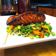 Brown Sugar Salmon Recipe with Bourbon and Soy