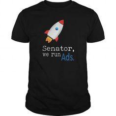 Shop Senator We Run Ads T-Shirt custom made just for you. Designed by carsar We Run, Custom Shirts, Custom Made, Shirt Designs, Just For You, Ads, Running, Mens Tops, T Shirt