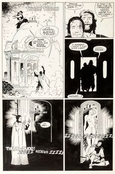 Mike Mignola and Al Williamson - Fafhrd and the Gray Mouser #3 Page 5 Original Art (Marvel, 1991)