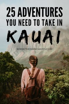 In this post, we're sharing our favorite things to do in Kauai – all inclusive with gorgeous beaches, stunning vistas, and breathtaking waterfalls! This post has everything you need to have the adventure of a lifetime in Hawaii! Hawaii Vacation Rentals, Hawaii Destinations, Vacation Resorts, Italy Vacation, Hawaii Travel Guide, Travel Tips, Travel Guides, Hawaii Activities, Kauai Hawaii